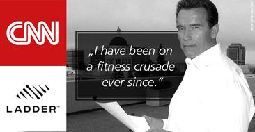 Influencer Arnold Schwarzenegger setzt sich auf seinem ganz persönlichen 'Kreuzzug' für mehr Fitness ein.