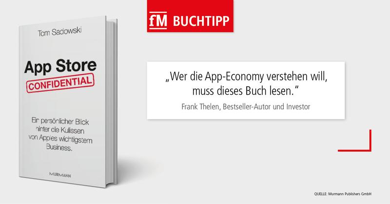 App Store Confidential: Ein persönlicher Blick hinter die Kulissen von Apples wichtigstem Business – Autor Tom Sadowski war für Apples deutschen App Store zuständig