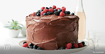Goodful – Das Kochbuch: Festliche Schokoladentorte