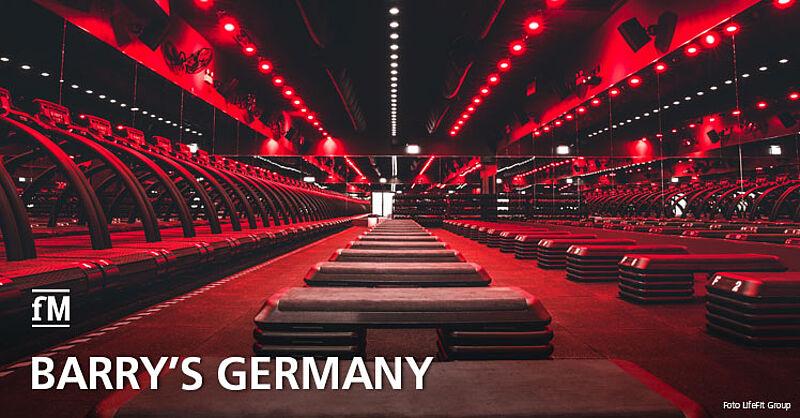 Barry's eröffnet in Frankfurt