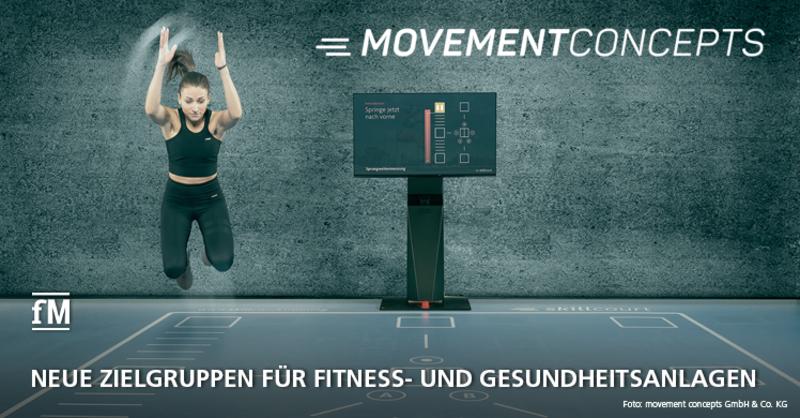 movement concepts: Neue Zielgruppen für Fitness- und Gesundheitsanlagen im Blick