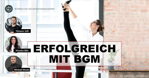 BGM und BGF: Drei erfolgreiche Fitness- und Gesundheitsanbieter verraten ihre Erfolgsgeheimnisse.