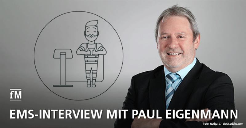Interview mit Paul Eigenmann zur DIN-Norm für EMS-Studios