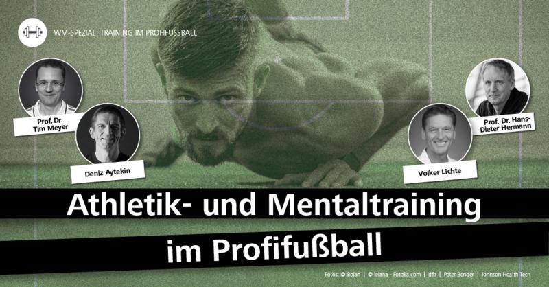 Athletik- und Mentaltraining im Profifußball