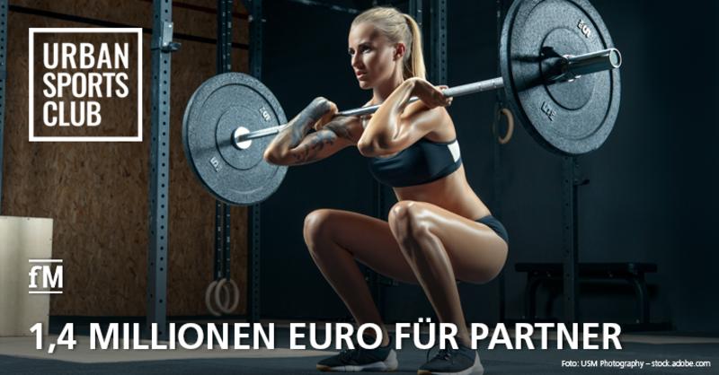 Urban Sports Club Solidaritätsfonds: 1,4 Millionen Euro fließen an Partner