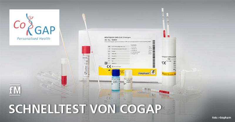 Jetzt mit dem CoGAP-Antigen-Schnelltest testen!