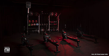 Life Fitness stellt innovative Cardiogeräte vor: Life Fitness Heat Row und Life Fitness Heat Performance Row.