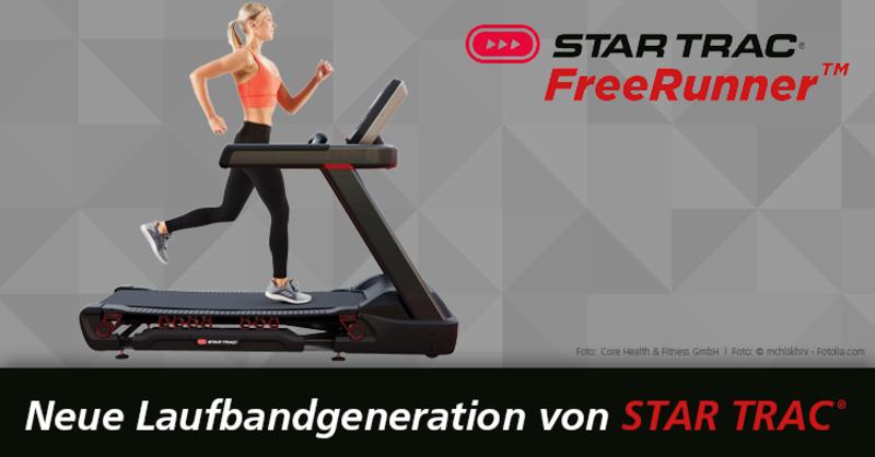 Star Trac Freerunner - Neues Laufband