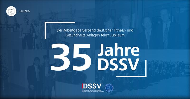 Allen Grund zu Feiern: Der Arbeitgeberverband deutscher Fitness- und Gesundheits-Anlagen (DSSV) feiert 2019 seinen 35. Geburtstag.