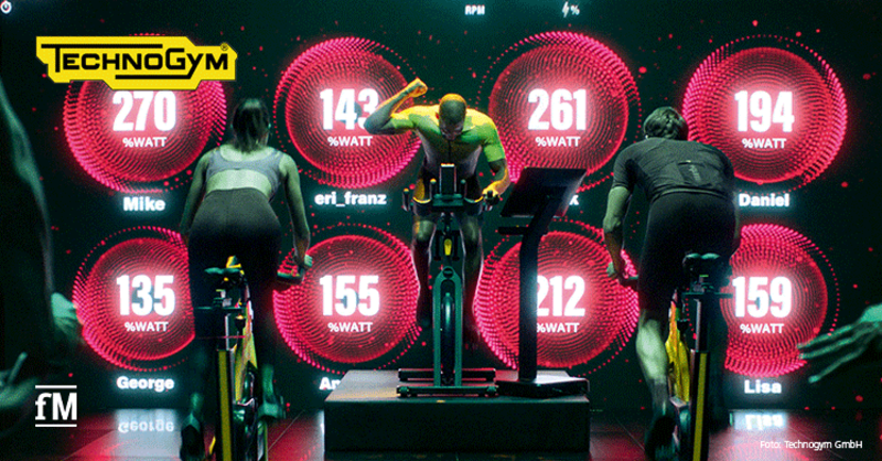 Technogym Group Cycle: Das neue Radsport-Erlebnis