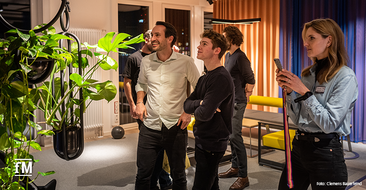 Eindrücke vom Housewarming des neuen Headquarters USC in Berlin.