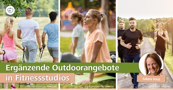 Großes Potenzial für Studioinhaber im Sommer: Outdoortraining anbieten.