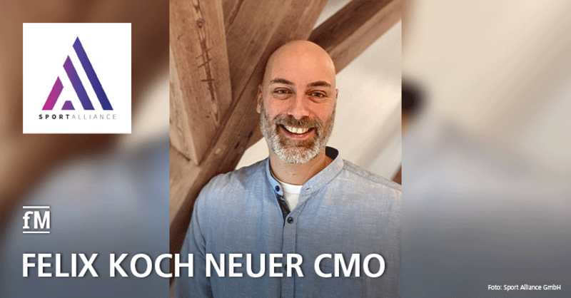 Felix Koch ist neuer Chief Marketing Officer (CMO) der Sport Alliance GmbH