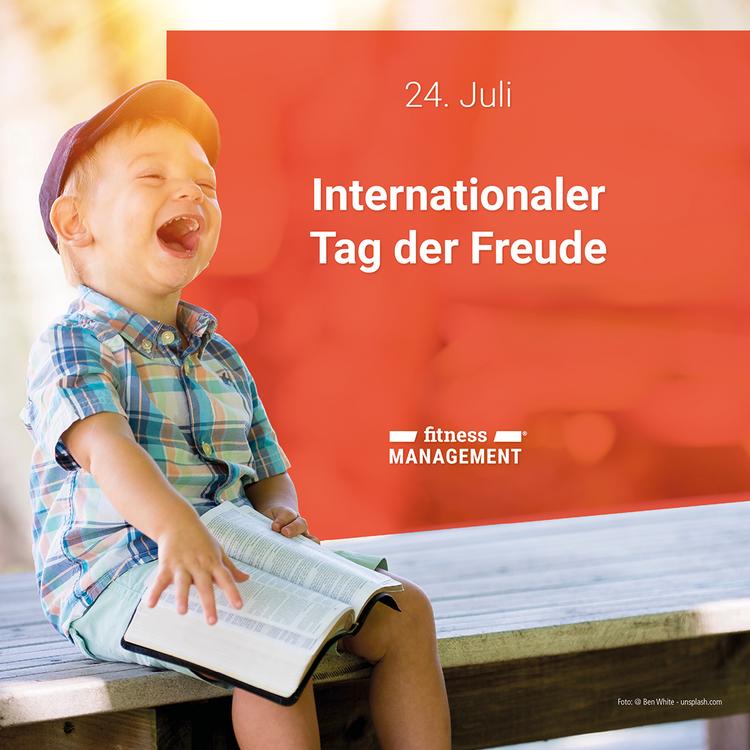 Am 24. Juli feiern Menschen auf der ganzen Welt den 'Internationalen Tag der Freude' oder 'International Day of Joy'.