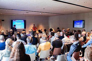 Spanndende Vorträge und Diskussionen über den Wachstumsmarkt Fitness, Prävention und Gesundheit