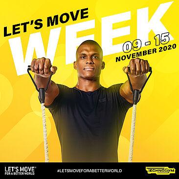 Zeit, dass sich alle bewegen: Technogym-Kampagne 'Let's Move Week 2020'
