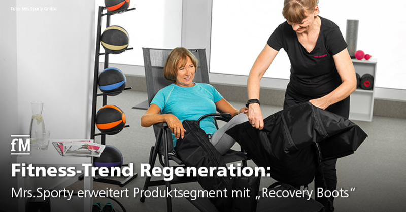 Regeneration mit 'Recovery Boots'