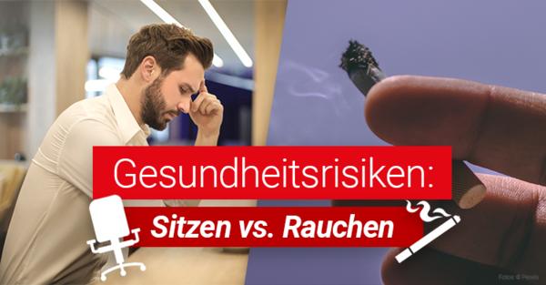 Sitzen sei das neue Rauchen, kommentierte Mediziner und Comedian Eckhart von Hirschhausen vor einiger Zeit.
