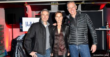 Hannes Jaenicke, Barbara Lohse und Henrik Gockel Grand Opening von Prime Time Fitness in der Maximilianstraße in München am 20.01.2020