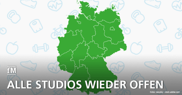 Die Ampel steht auf Grün: So lief die Wiedereröffnung der Fitnessstudios in Deutschland nach dem Corona-Lockdown