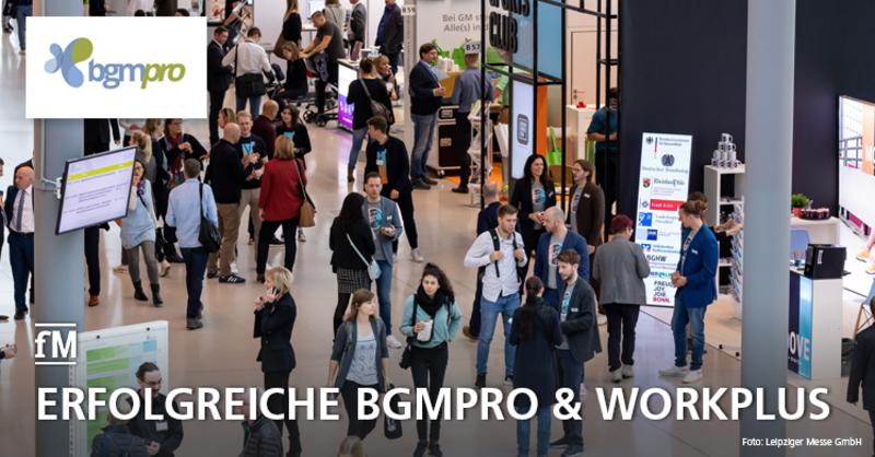 Kongressmesse BGMpro in Leipzig erfreute sich erneut großer Beliebtheit.