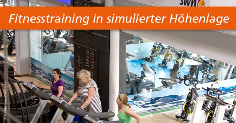 In dem Münchner Fitnessund Wellness Centerbody + soul hat man den Mehrwert von Höhentraining für die Fitnessbranche erkannt.