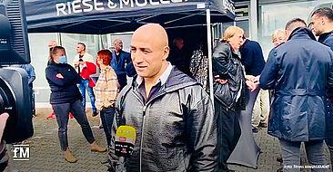 Fitnessmesse bei HOIST in Köln: Der ehemalige Boxweltmeister Artur Abraham im RTL-Interview.