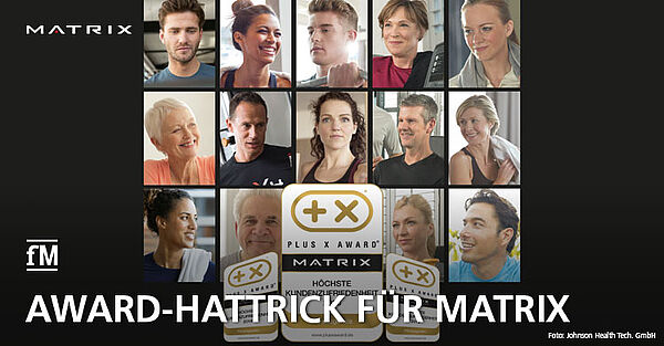 Matrix schafft Hattrick bei IT & Fitness-Award 'Plus X'