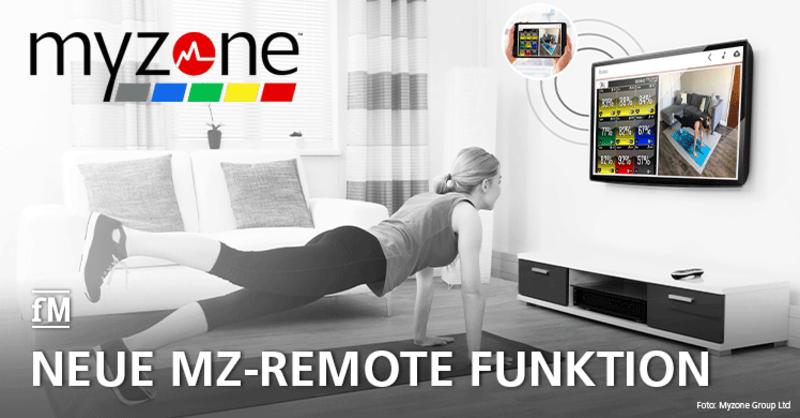 Myzone präsentiert neue MZ-Remote Funktion