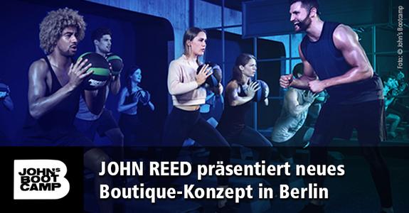Bei JOHN'S BOOTCAMP treffen hochintensive Trainingsintervalle auf ein besonderes Sound-und Lichtkonzept – begleitet von Coaches.
