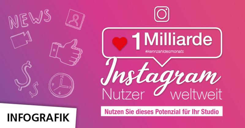 Kennzahl des Monats: 1 Milliarde Instagram-Nutzer
