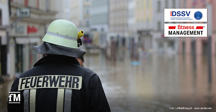 Hochwasserkatastrophe in Westdeutschland: fMi und DSSV appellieren an Solidarität.