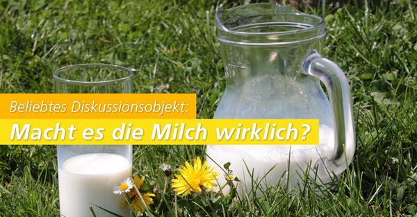 Milch oder doch die laktosefreie Variante? Die Qual der Wahl!