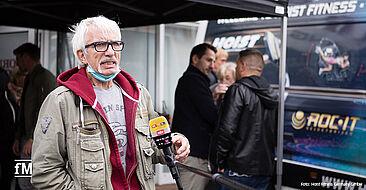 Schauspieler Ralf Richter im Interview mit RTL.