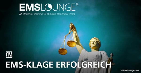 EMS-Lounge® gewinnt vor dem VGH
