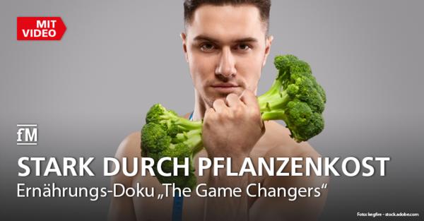 Vegetarismus im Mittelpunkt der Ernährungs-Doku 'The Game Changers'.