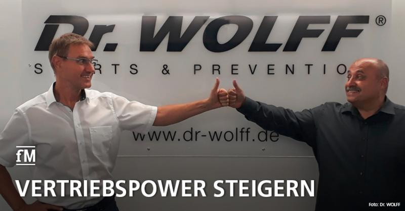 Neuer Vertriebsleiter Medical Fitness: Dr. Hartmut Wolff (links) und Antonio Silva freuen sich auf die weitere Zusammenarbeit