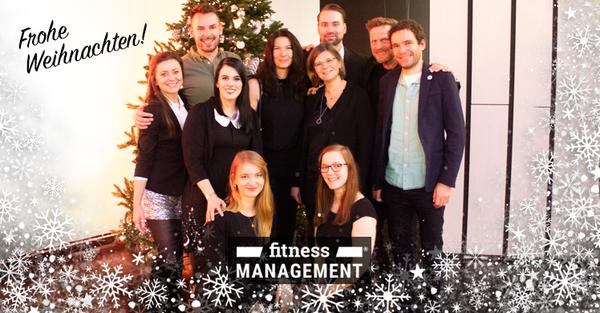 Frohe Weihnachten! Wünscht Ihnen das gesamte Team der fitness MANAGEMENT