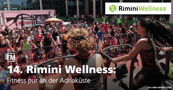 Fitness pur an der Adriaküste bei der Rimini Wellness.