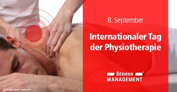 Bewusstsein für die Bedeutung der Physiotherapie schaffen am #worldptday am 8. September.