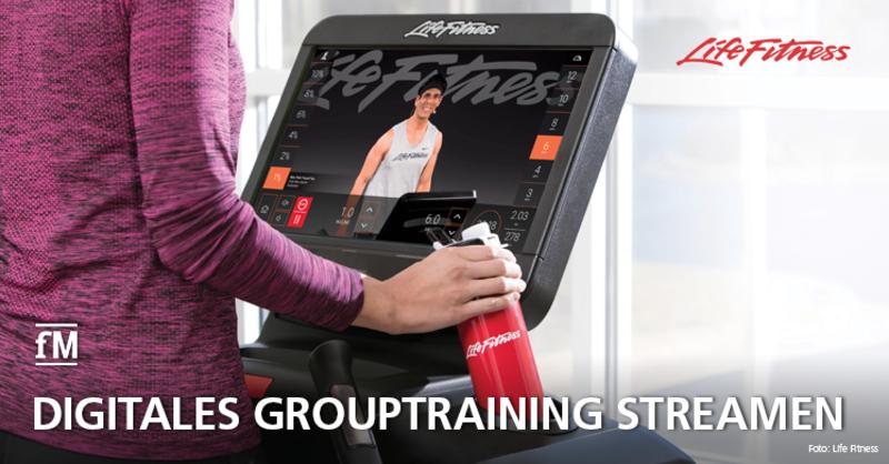 Life Fitness startet Angebot für digitales Grouptraining auch in Deutschland: Life Fitness On Demand läuft exklusiv auf Cardiogeräten mit der Discover SE3 HD Konsole.