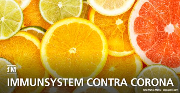 Immunsystem mit Vitaminen und Mineralstoffen pushen