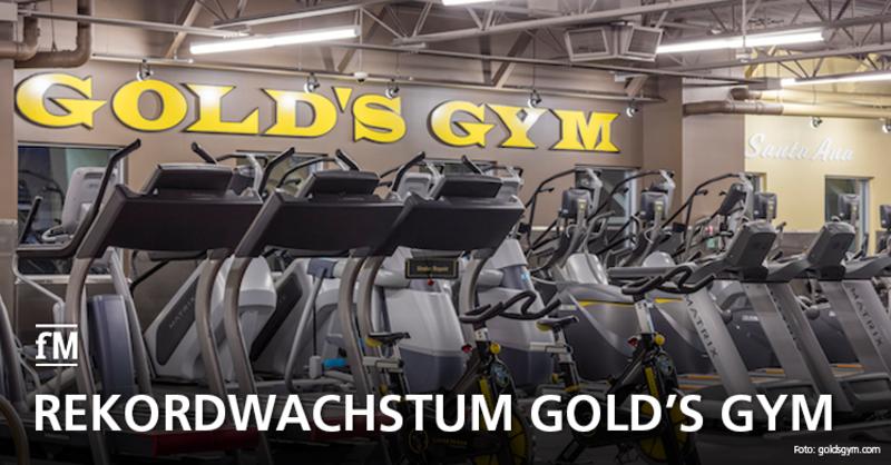Rekordwachstum bei der US-Kultmarke Gold's Gym