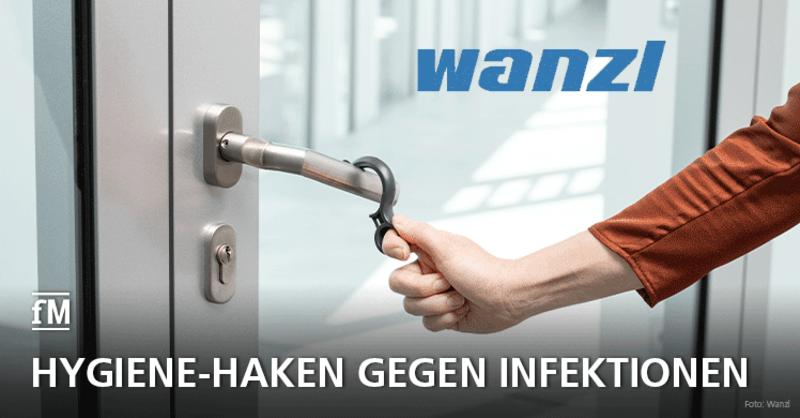 Mit dem Hook Hygiene-Haken von Wanzl gegen Corona