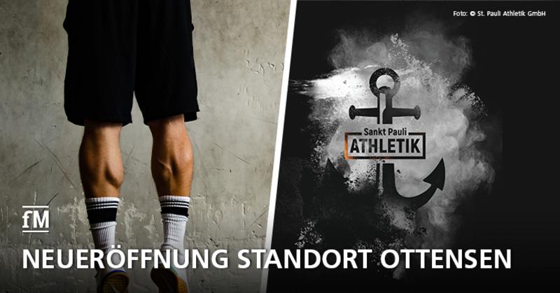 Nach Rebranding eröffnet Sankt Pauli Athletik den Standort im Hamburger Westen neu.