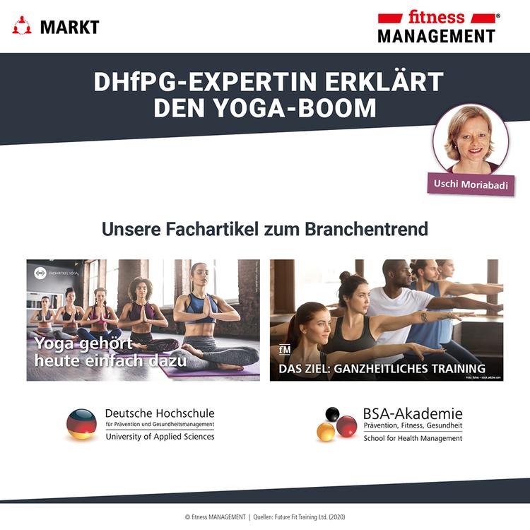 Unsere Fachartikel zum Yoga-Boom