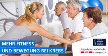 'Fitness auf Rezept' – Statement für mehr Fitness- und Bewegung bei Krebs
