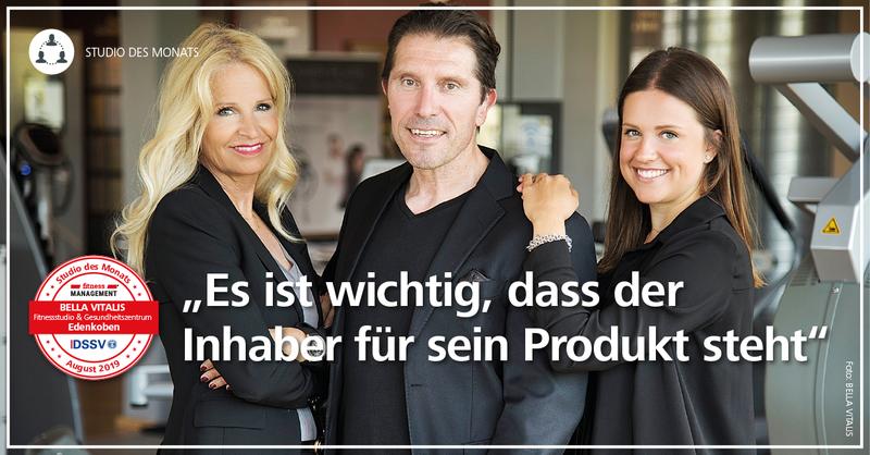 'Es ist wichtig, dass der Inhaber für sein Produkt steht', sagt 'Bella Vitalis'-Gründer Frank Weber.