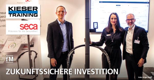 Kieser Training AG und seca Deutschland vereinbaren langfristige Zusammenarbeit