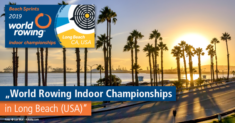Kräftemessen der Rudercracks – World Rowing Indoor Championships in Long Beach.
